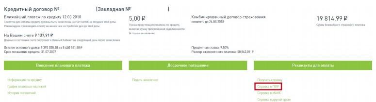 Справка в ПФР РФ