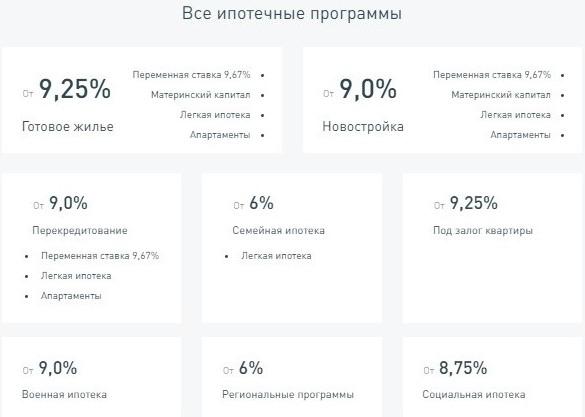Программы ипотечного кредитования, которые предлагает АО «Дом.рф»