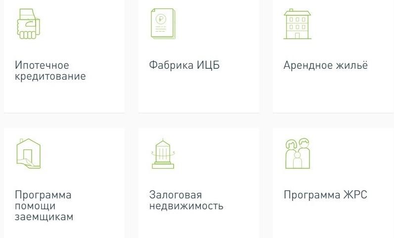 Направления партнерской деятельности компании АО «Дом.рф»
